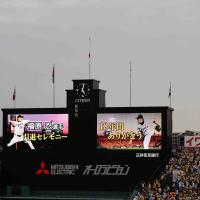 阪神タイガース応援観戦記 22(福原忍投手お疲れさまでした)