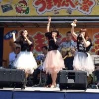 良い天気のもと野外ステージに出演!東大和市