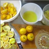 柚子茶作りました