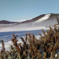 冬・菅平高原の朝