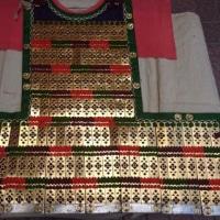 即位大礼の威儀の者の装束「挂甲」