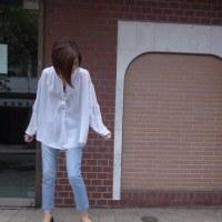 プライオリティ☆ゆるふわシフォン・オーバーブラウス☆