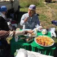 10月15日 おお田の米刈り