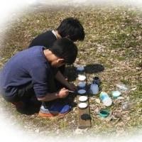 2017/04/04 サスティナ実験広場作業会 かわいい助っ人がありました(*^_^*)