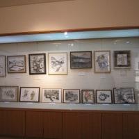水墨画の展示会
