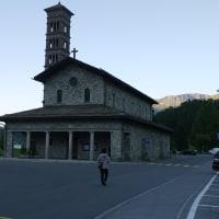 スイス6月旅行、サンモリッツ夕食