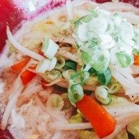 おうちラーメン(ポロイチ醤油)
