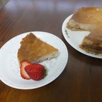イチゴのチーズケーキ・・・♪