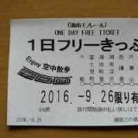 湘南モノレール「1日フリーきっぷ」