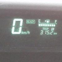気温が上がると燃費にでます。