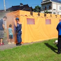 地区防災訓練
