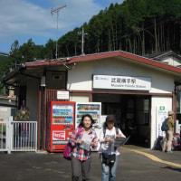 マッキーの山登り:武蔵横手駅~五常の滝~北向地蔵~物見山~日和田山~巾着田~高麗駅