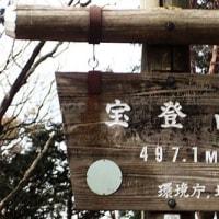 長瀞アルプスハイキングコースをハイキング