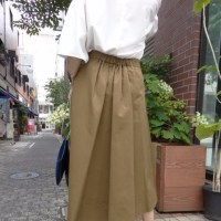 《晩夏新作》シビリゼ☆イレギュラーヘムフレアスカート☆