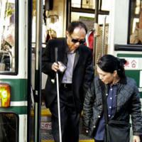視覚障害者の外出支援、人手足りぬ 京都、登録ヘルパー減少