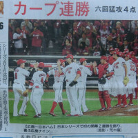 (フアン3号)   昨日の日本シリーズ第2戦の結果。