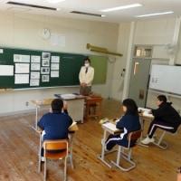 校長先生の道徳授業