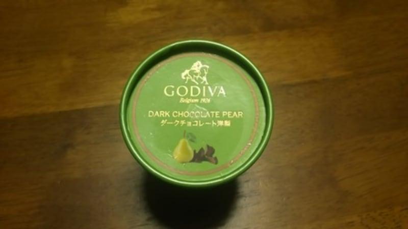 GODIVAダークチョコレート洋梨