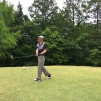 友とのゴルフ
