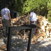 留学日記22~stacked wood~