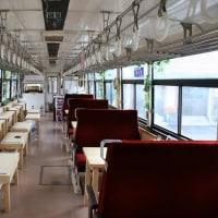 明知鉄道アケチ1形アケチ1/山岡駅かんてんかん 森の列車カフェ