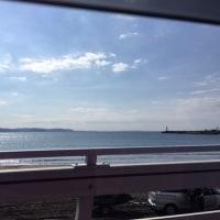 日曜日の江ノ島。風強い〜。