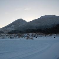 1月21日(土)のえびの高原