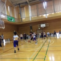 ホームの練習試合
