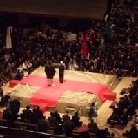 栃東引退相撲断髪式