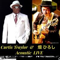 今夜です!!  4/1  はクレッセントでCurtis Traylor & 畑ひろしさんコラボライブです!