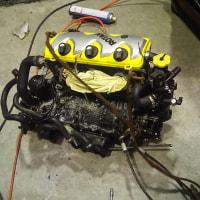 ROTAX製エンジン脱着及び異音整備 ボンバルディア製ウォータークラフト(SEA-DOO)