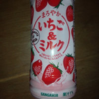 日本サンガリア・いちご&ミルク