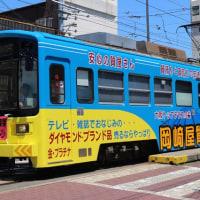路面電車(住吉鳥居前駅)