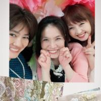 「暮らしの中のバラ展三日目」(*^o^*)