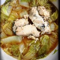 鮭缶と白菜の煮込み♡