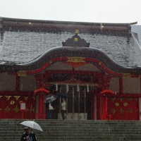 北海道展と花園神社