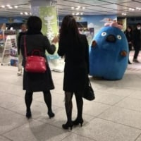 北海道新幹線1周年記念イベントin東京駅だべぇ(・∀・)ノ
