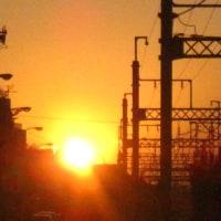夕陽のきれいな街・・