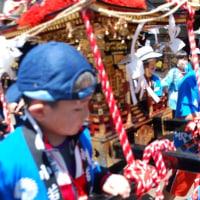 町内の御祭り