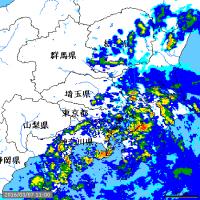横浜には大雨(土砂災害)警報