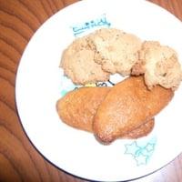 豆乳クッキー&きなこと黒ゴマクッキー