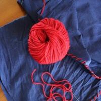 マルシェカゴとサイリの糸💕
