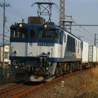 2017年3月30日  新金貨物線   EF64-1023 1094レ