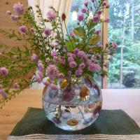 ボヘミアンガラス 花器
