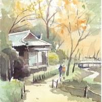 紅葉の横浜三溪園