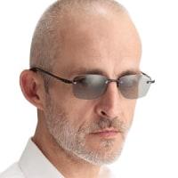 偏光機能付きファッションシニアサングラス(老眼鏡付きサングラス)