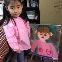 イケミチコスタジオ絵画教室は、三人限定の教室です