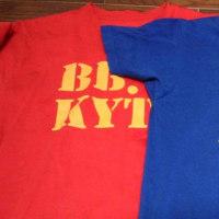 3代目は2パターンなんですね~⤴(KIYOTSUNE Tシャツ)