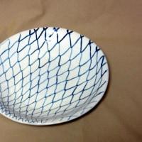 網目模様の皿を作る