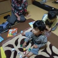 土曜日は実家で、長男の二歳のお誕生日会を開きました